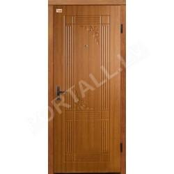 ABWEHR Metāla durvis ar MDF apdari FIESTA 860/960x2050 (Zeltainais Ozols)
