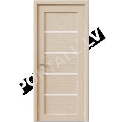 Durvis KVADRO 04 DOF Balināta ozola krāsa