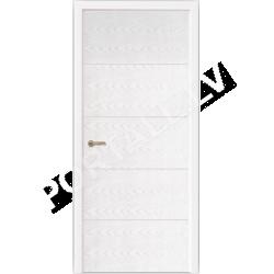Durvis SCANDI 01 DOF Balta oša krāsa