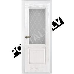 Durvis VALENCIA 01 DOF  Balta oša krāsa