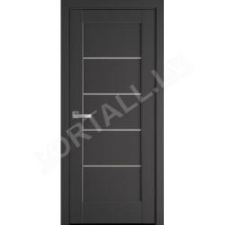 Durvis ar kārbu MIRA Antracit
