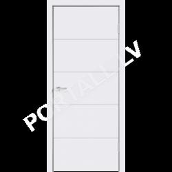 Emaljētas durvis  SCANDI F pilnas