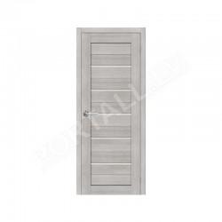 Durvis ar karbu  PVC SEMPRA 01 grey sonoma