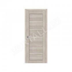 Durvis ar karbu  PVC SEMPRA 01 kapucino