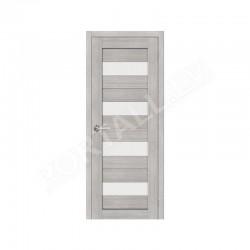Durvis ar karbu  PVC SEMPRA 02 grey sonoma