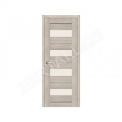 Durvis ar karbu  PVC SEMPRA 02 kapucino