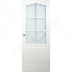 Durvis FORTIS B PVC DO  Baltas ar stiklu