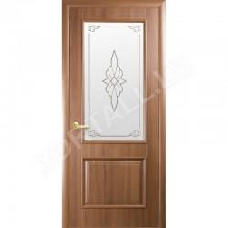 Durvis ar kārbu VILLA Zelta alksnis ar stiklu
