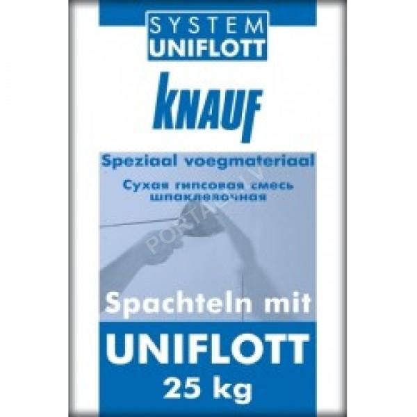 Knauf UNIFLOTT 25kg - špaktele ģipškartona plākšņu šuvju aizpildīšanai