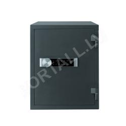 Mēbeļu, paaugstinātas drošības ugunsdrošs seifs dokumentiem YALE, ar elektrisku slēdzeni (augstums: 52,2 cm, platums: 40,4 cm)