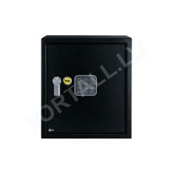 Dokumentu mēbeļu seifs YALE, ar elektronisku slēdzeni (augstums: 39 cm, platums: 35 cm)