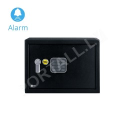 Mēbeļu seifs YALE ALARM, ar elektronisku slēdzeni (augstums: 20 cm, platums: 31 cm)