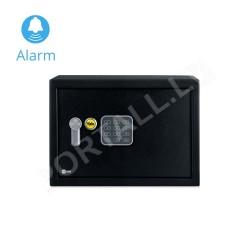 Mēbeļu seifs YALE ALARM, ar elektronisku slēdzeni (augstums: 25 cm, platums: 35 cm)