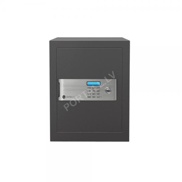 Dokumentu mēbeļu profesionāls, sertificēts seifs YALE, ar elektronisku slēdzeni.(augstums: 40cm, platums 35cm).