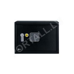 Mēbeļu seifs YALE, ar elektronisku slēdzeni (augstums: 20 cm, platums: 31 cm)