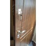 ABWEHR Metāla durvis ar apdares MDF Monami (AP1) 860 / 960x2050 (Tumšais Ozols)