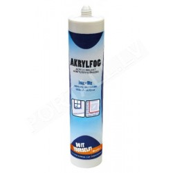 Bostik DIY akrila masa balta 300ml