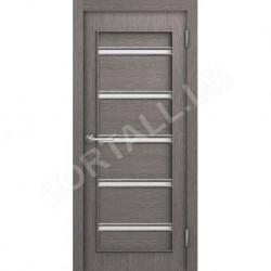 Durvis ar karbu  Lait DO Pelēks