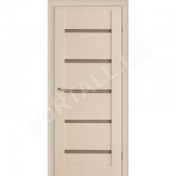 Durvis ar karbuVILA 14 krāsa Balts (stiklotā vērtne)