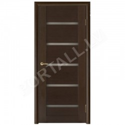 Durvis ar karbuVILA 14 krāsa Venge (stiklotā vērtne)