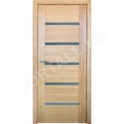 Durvis ar karbu VILA 14 krāsa Ozols (stiklotā vērtne)